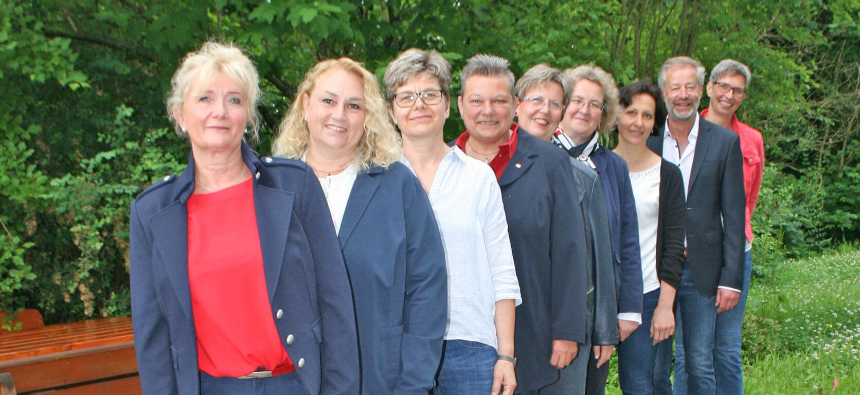 Das Team der Berufsschule für Pflegeberufe am Klinikum Kulmbach